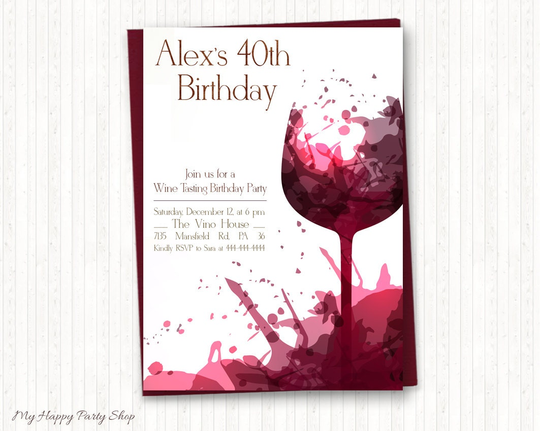 It's just a picture of Gutsy Free Printable Birthday Invitations for Adults