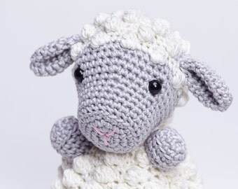 Lamb Amigurumi,Crochet Lamb Toy,Crochet Sheep,Sheep Doll,Stuffed Lamb,Stuffed Plushies,Sheep Nursery Decor,Baby Gifts,Sheep Toy,Sheep Plush