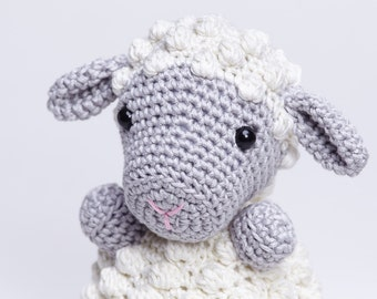 Sheep Amigurumi, Lamb Amigurumi, Crochet Sheep Doll, Crochet Lamb Toy