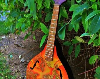 Semi-Acoustic Mandolin
