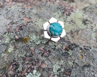 Queen of the Amazonite Ring