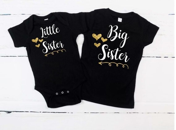 bestsfilete.cf: big sister little sister outfits. Little sister and big sister lovely sisters matching clothes. I'm The Little Sister I'm The Big Sister Tshirt Set Baby Toddler Kids Available in Sizes Months New Baby Sister Gift. by 60 Second Makeover Limited. £