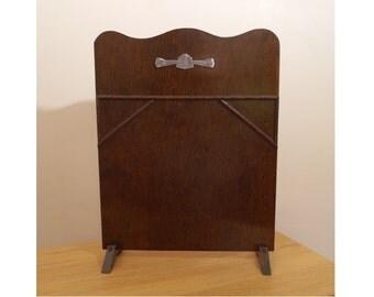 Fireplace Screen / Board / Defender || Vintage