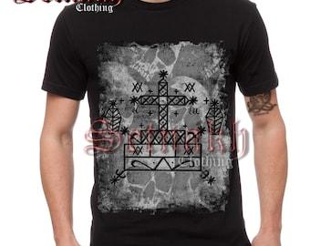 Occult men's T-shirt - BARON SAMEDI VEVE T-shirt - Voodoo T-shirt - skull T-shirt - death fashion - Voodoo fashion - occult clothing #TS8