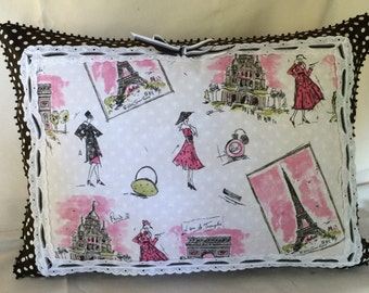 Très Chic Waverly Paris Pillow Cover