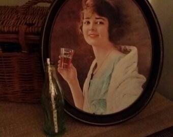 Vintage Coca Cola tray 1973