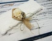 Cream rustic wedding Rustic BOUTONNIERE CORSAGE groom groomsman boutonniere, Sola Flower, Wedding Flowers custom