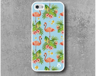 IPhone 5 / 5S / SE Hard Case Pink Flamingo
