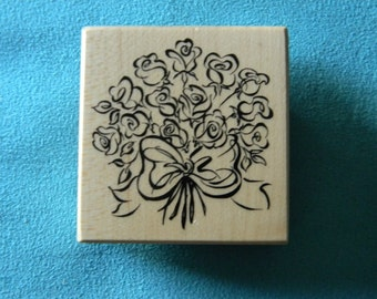 PSX F-3039 - Bouquet of Flowers - Rubber Stamp