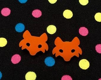 Little Fox Stud Earrings