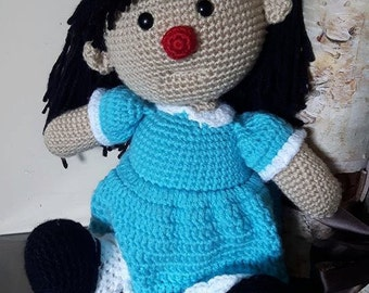 Molly, inspired by the Big Comfy Couch