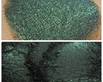 Greed - Black and Green Shimmer Pigment