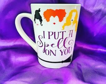 Hocus Pocus Mug - Hocus Pocus Cup - Hocus pocus coffee mug - Hocus Pocus - Sanderson Sisters - Halloween mug - Halloween coffee mug
