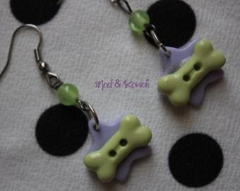 Creepy cute star earrings