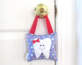 Girls Tooth Fairy Pillow - Personalized Tooth Fairy Pillow - Birdies