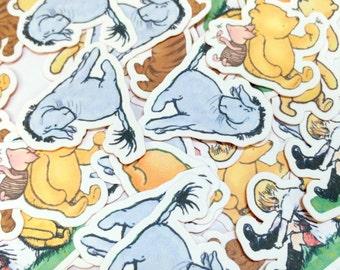 Confetti Winnie the Pooh, Party Decor, Birthday, Baby Shower, Table Confetti, Party Confetti, Baby Shower Decor, Die Cuts, Paper Decoration