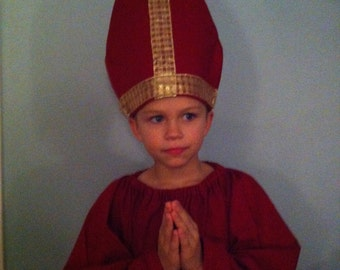 Saint Nicholas costume for boys