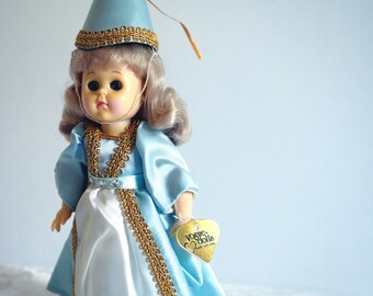 """1989 Ginny """"Ginny in Camelot"""" (#71-2710)- Vogue (Dakin) Original 8"""" Doll+All Clothes+Stand- Big Adventure-Tagged-Retired Collectible"""