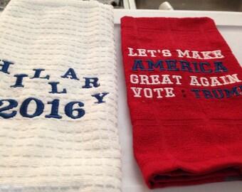 KITCHEN TOWELS POLITICAL