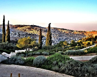 Overlook of the 'Old City' - Jerusalem