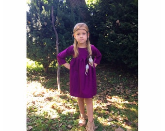 girls dresses, baby dress, dresses, fall outfit, purple dress, fall dress, toddler dress, fall fashion, family pictures, newborn
