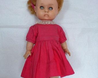 Vintage Shabby English Soft Vinyl Doll