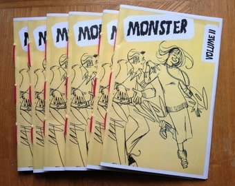 ZINE - MONSTER VOL. 2