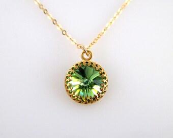 Birthstone Necklace August, Emerald Birthstone Necklace, Birthstone Necklace, Necklace Birthstone, Emerald Necklace, Emerald Gold Necklace