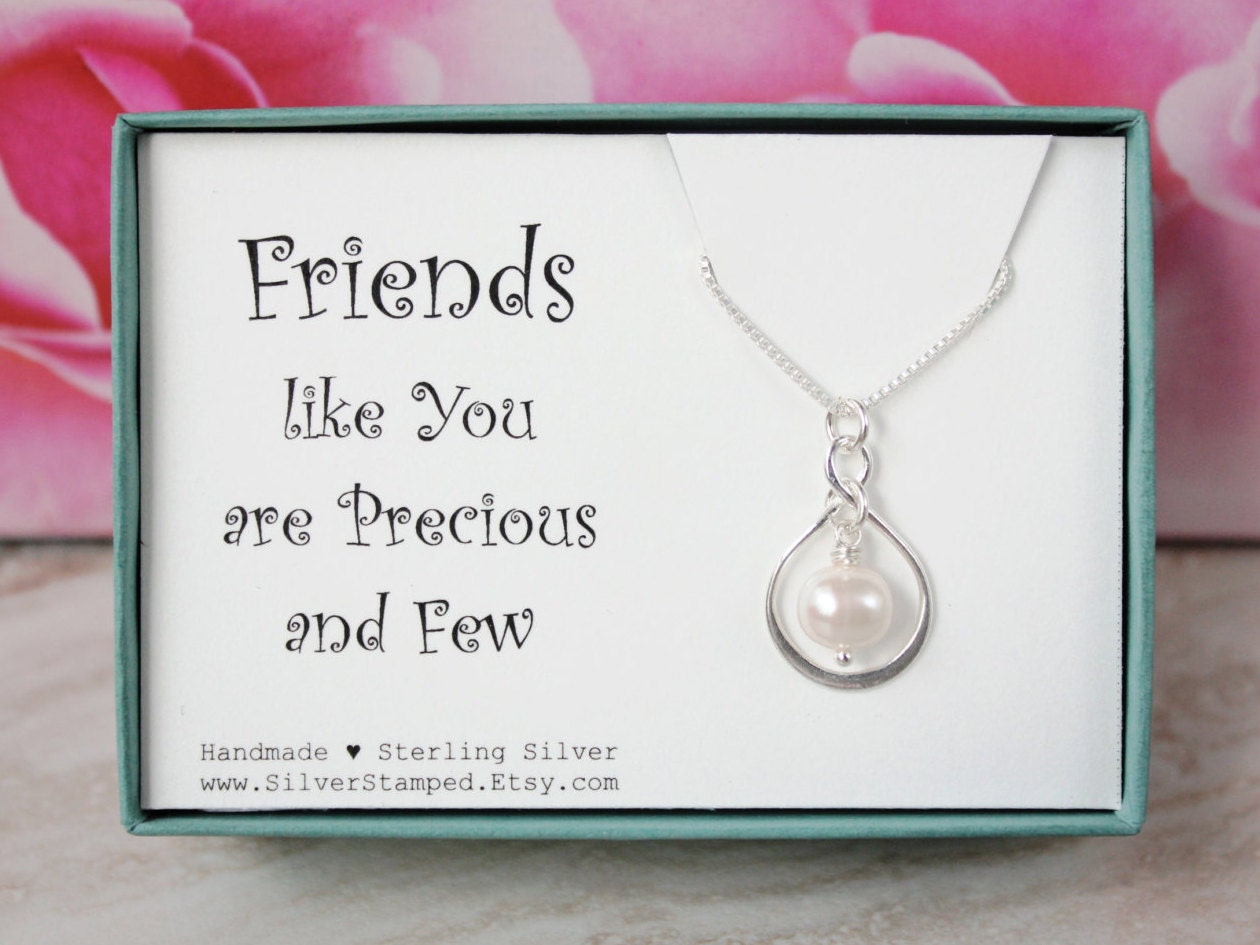 Gift For Friend Thank You Gift For Best Friend Necklace