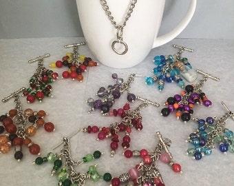 Interchangeable necklace set, interchange necklace, beaded necklace, pendant necklace