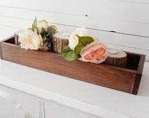 Wood Centerpiece Box- Rustic Centerpiece Box- Wedding Centerpiece Box- Sweetheart Table Centerpiece- Head Table Centerpiece- Rustic Wedding