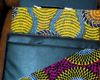 African print laptop cases
