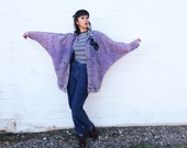 RESERVED 1980's Pink Acid Wash Oversized Native American Jean Jacket