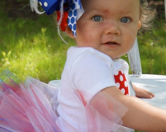 over the top fourth of july headband - baby girl fourth of july bow headband - fourth of july headband with feathers - baby girl 4th