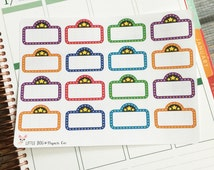 16 Movie Marquee Life Planner Stickers Scrapbook Stickers Movie Stickers Theater Stickers