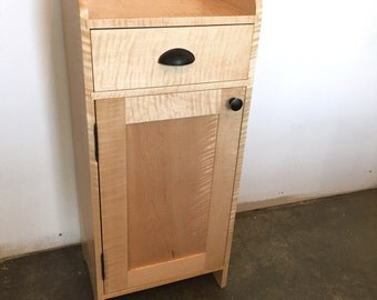 Curly Maple Cabinet