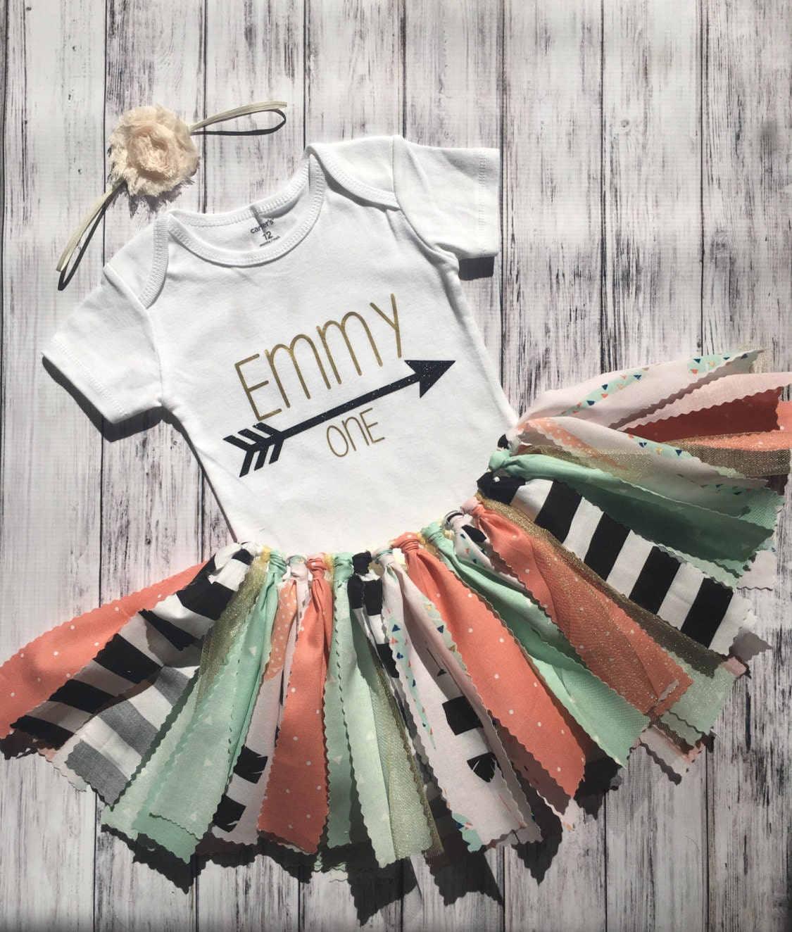 Boho first birthday outfit shabby chic first birthday outfit - Shabby chic outfit ideas ...