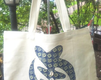 LIMITED EDITION Santi Baby Grown Up Tote/Gye Nyame