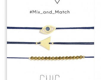 Dark Blue Chic Bracelets