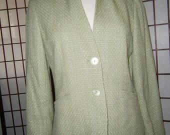 Women's Jacket - Soft Celery Green