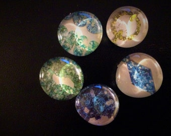 Blue Jewels Magni-Magnets (Set of 5)