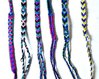 Friendship Bracelets, handmade in Guatemala