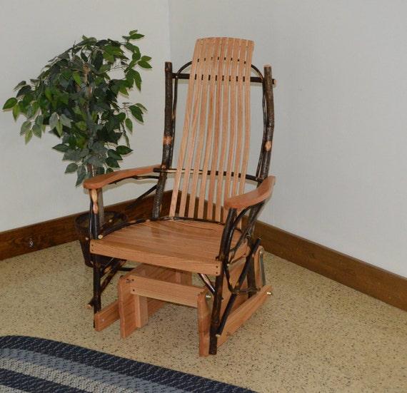 Hickory Porch Glider - Single Glider Chair