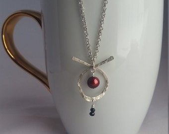 Sterling silver artisan necklace