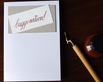 Buggeration! Amusing card for any occasion
