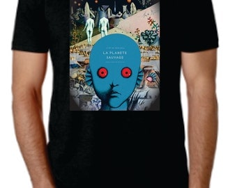 The Fantastic Planet movie poster Tee