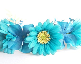 Caribbean seas Floral Crown