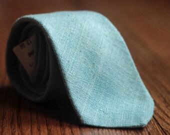 Vintage Light Blue Necktie