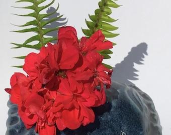 Pillow Ceramic Handmade Vase, Ceramic Sculpture, Ceramic Art, Stoneware Art