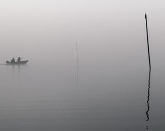 Black and White Photography, Fishermen